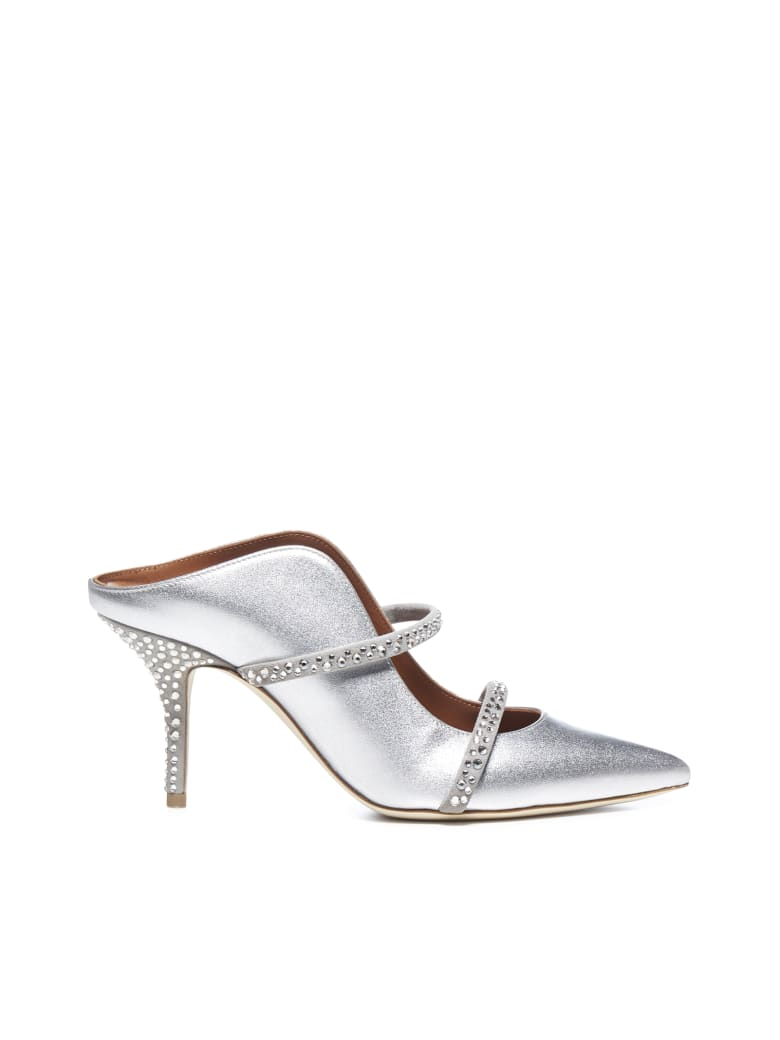 Malone Souliers Flat Shoes - Silver silver