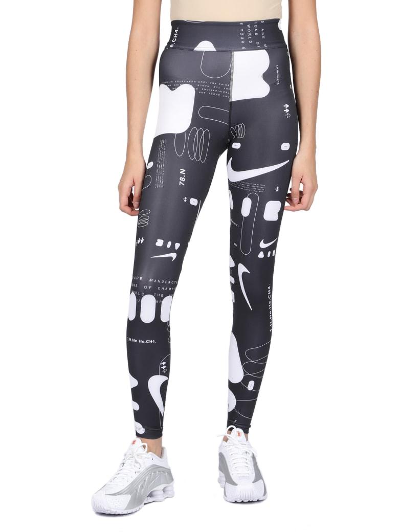 Nike Leggings - Nero/bianco