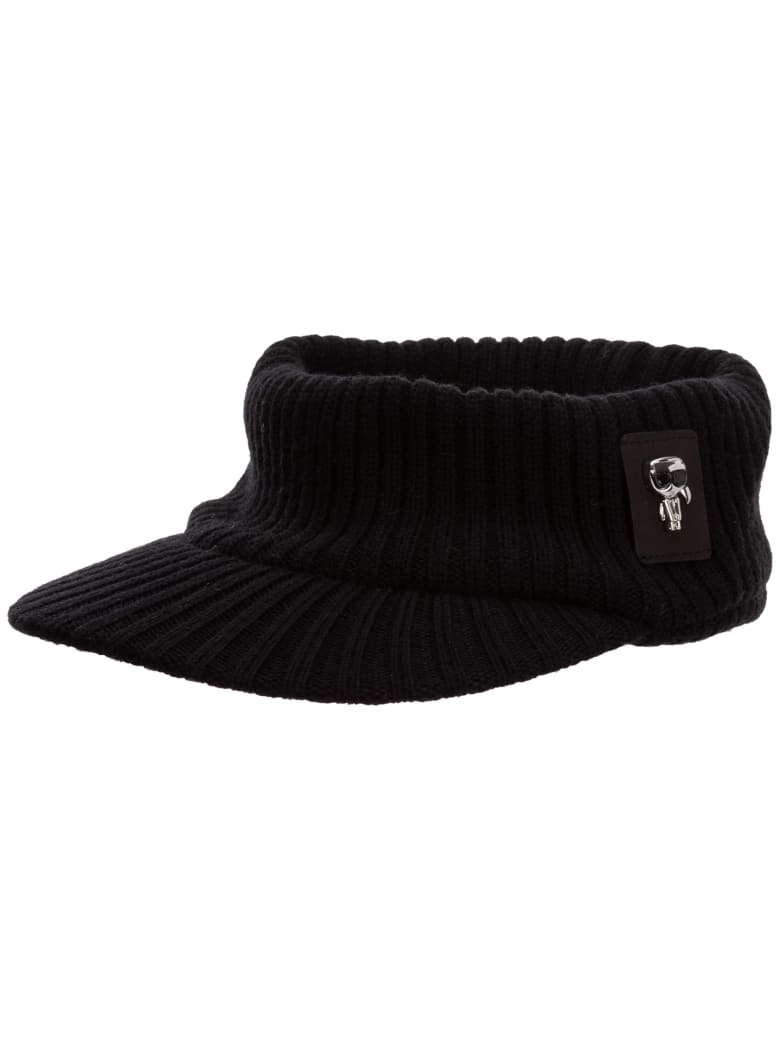 Karl Lagerfeld K/ikonik 3d Hat - Black