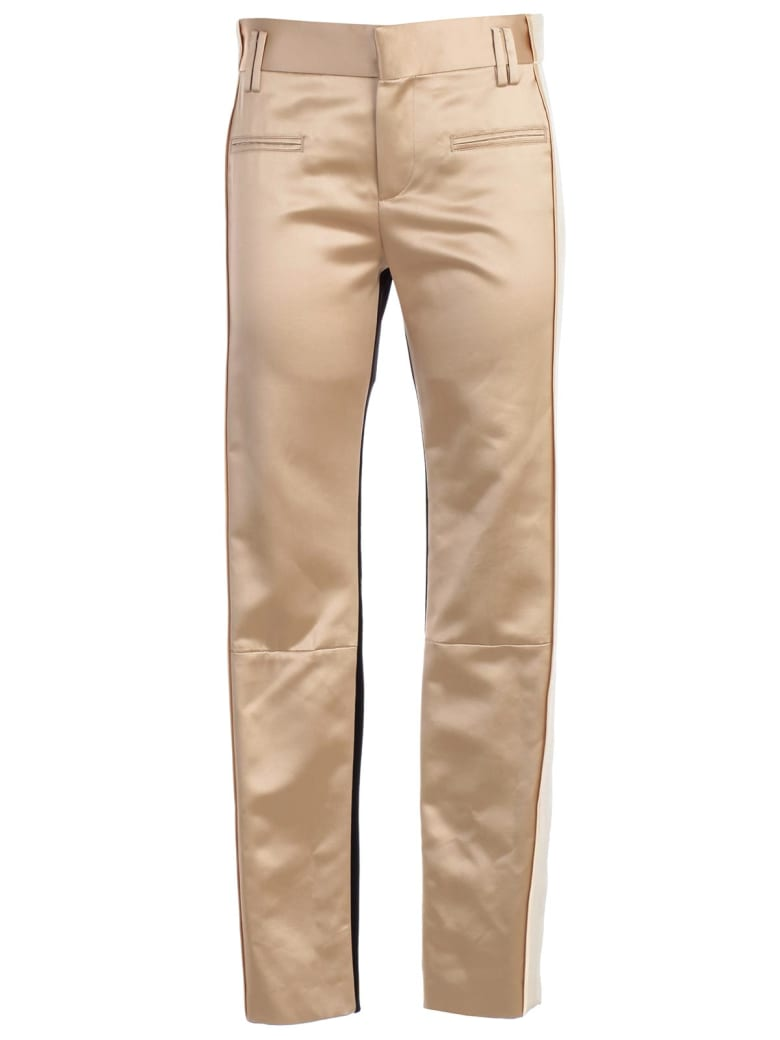 Haider Ackermann Slim Fit Trousers - Nude Black