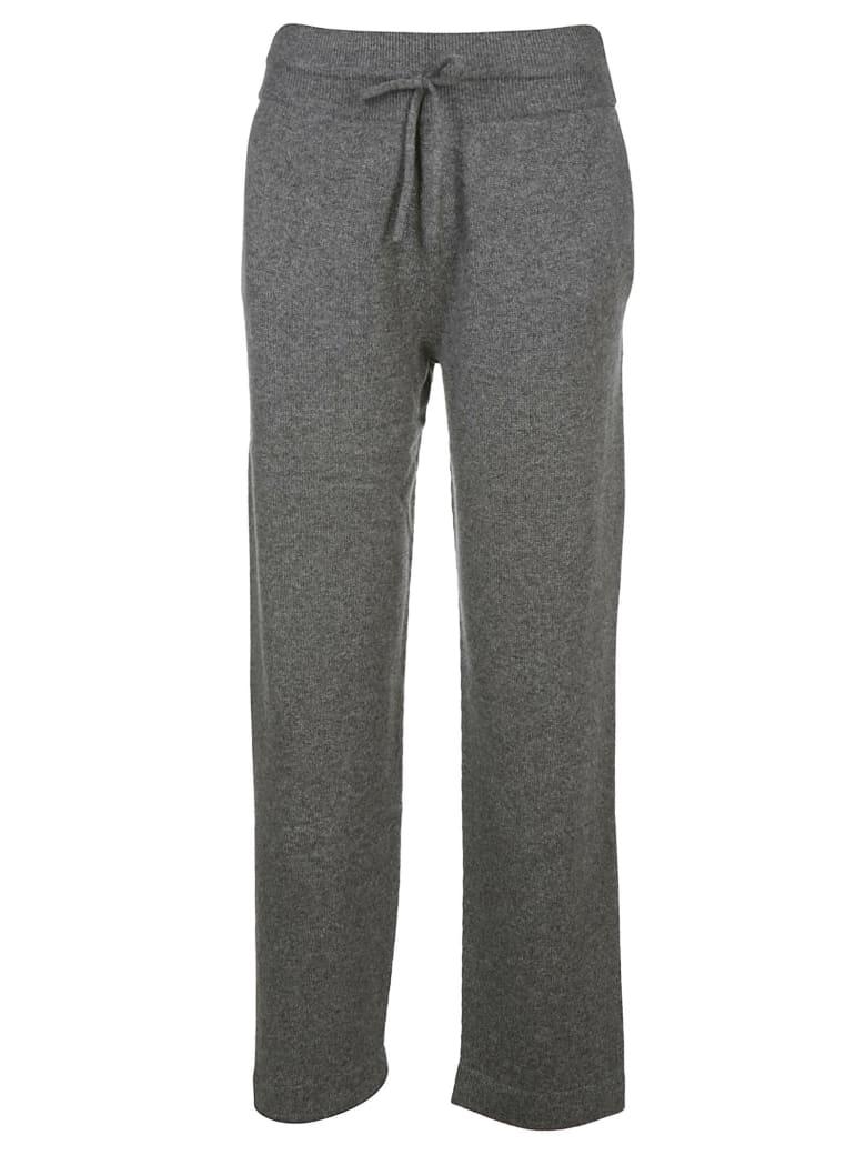 Agnona Cashmere Pants - Dark grey