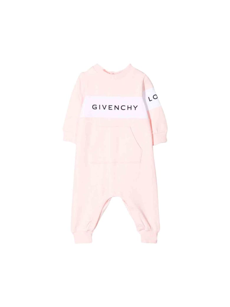Givenchy Newborn Baby Pink Suit - Rosa