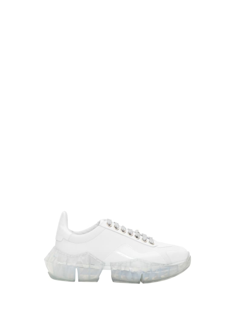 Jimmy Choo Diamond/f Sneakers - Bianco