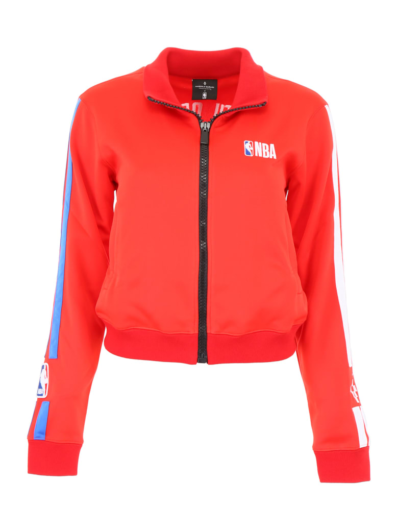 Marcelo Burlon Nba Sweatshirt - RED MULTI (Red)
