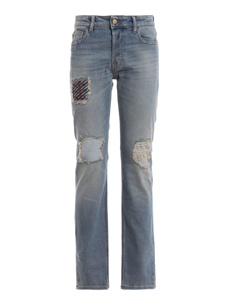 Emporio Armani 5 Pockets Pants - Denim Blue