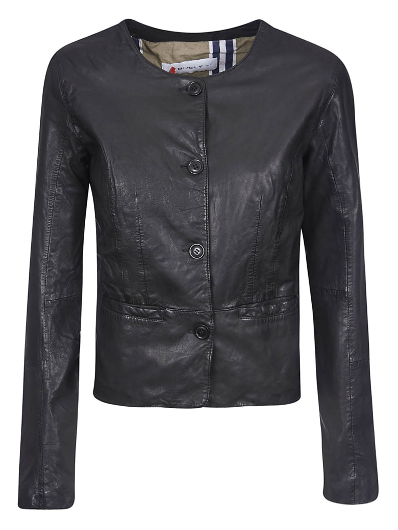 Bully Vintage Leather Jacket - Nero