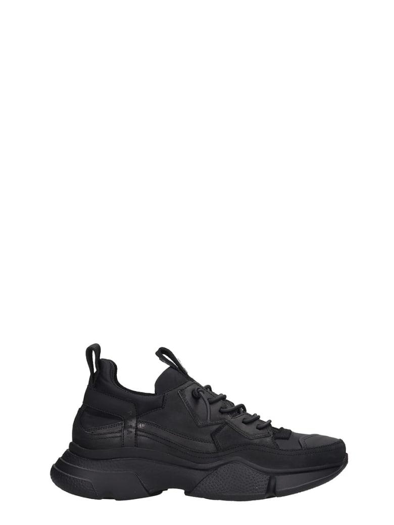 Bruno Bordese Sneakers In Black Leather - black