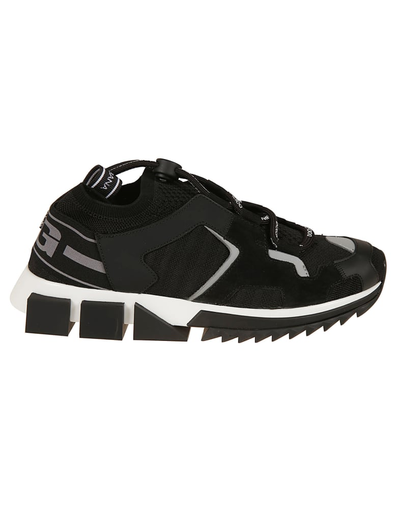 Dolce & Gabbana Ridge Sole Sneakers - black