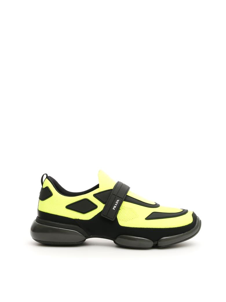 Prada Cloudbust Sneakers - GIALLO FLUO NERO (Yellow)