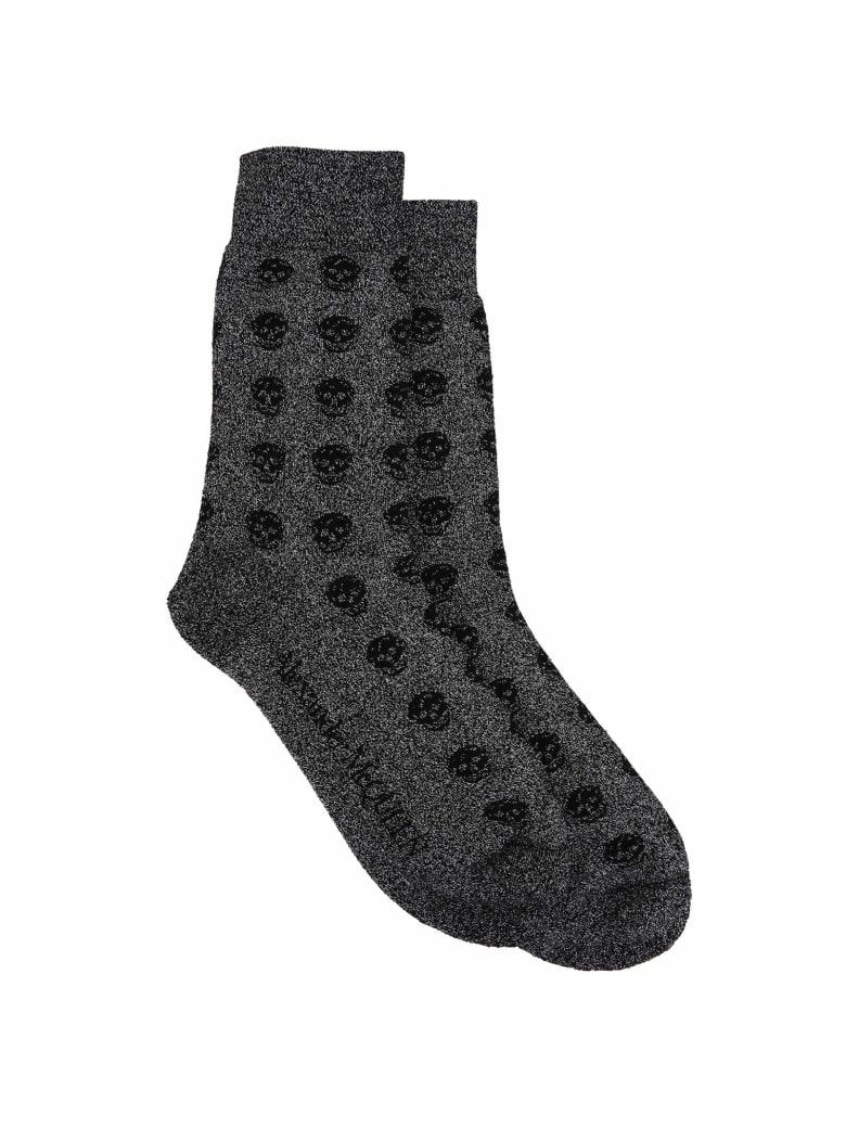 Alexander McQueen Socks - Grey