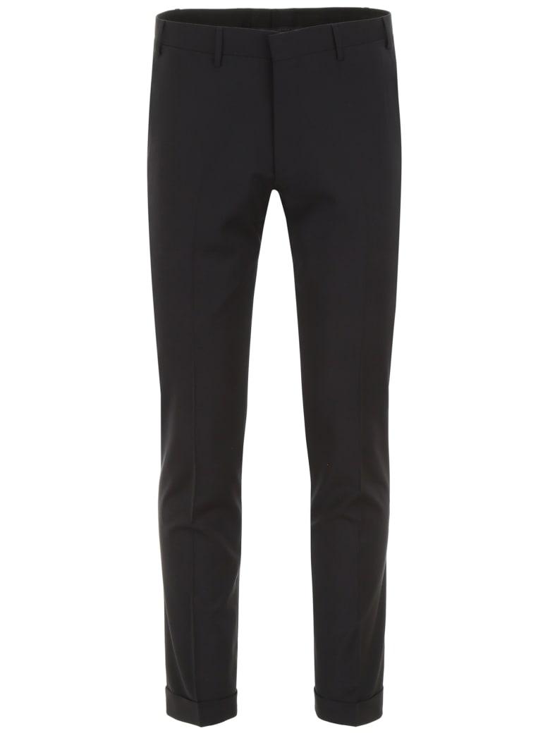 CC Collection Corneliani Classic Trousers - NERO (Black)