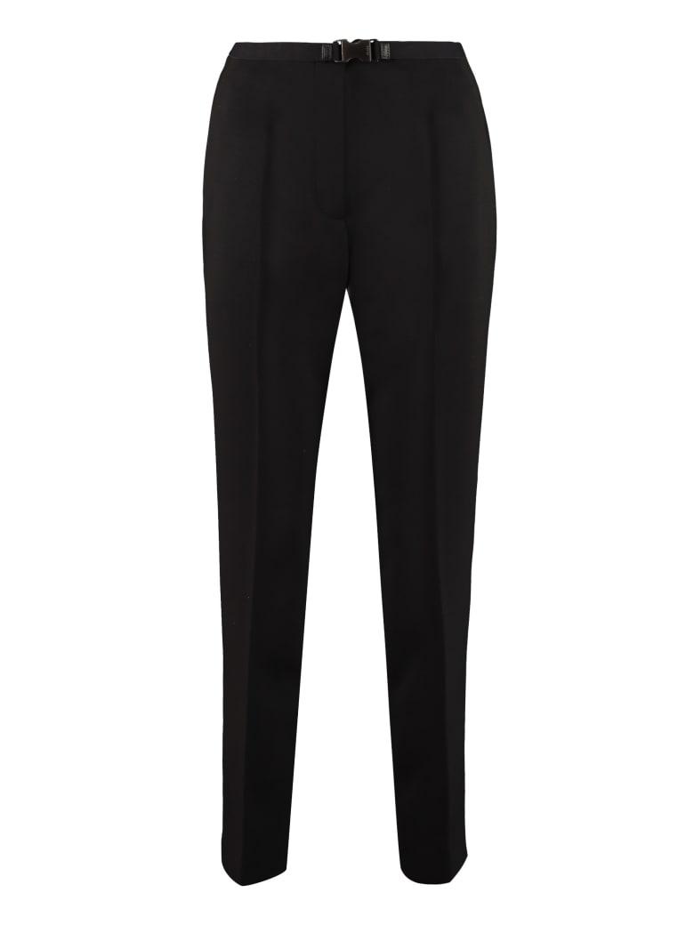 Prada Virgin Wool Trousers - black