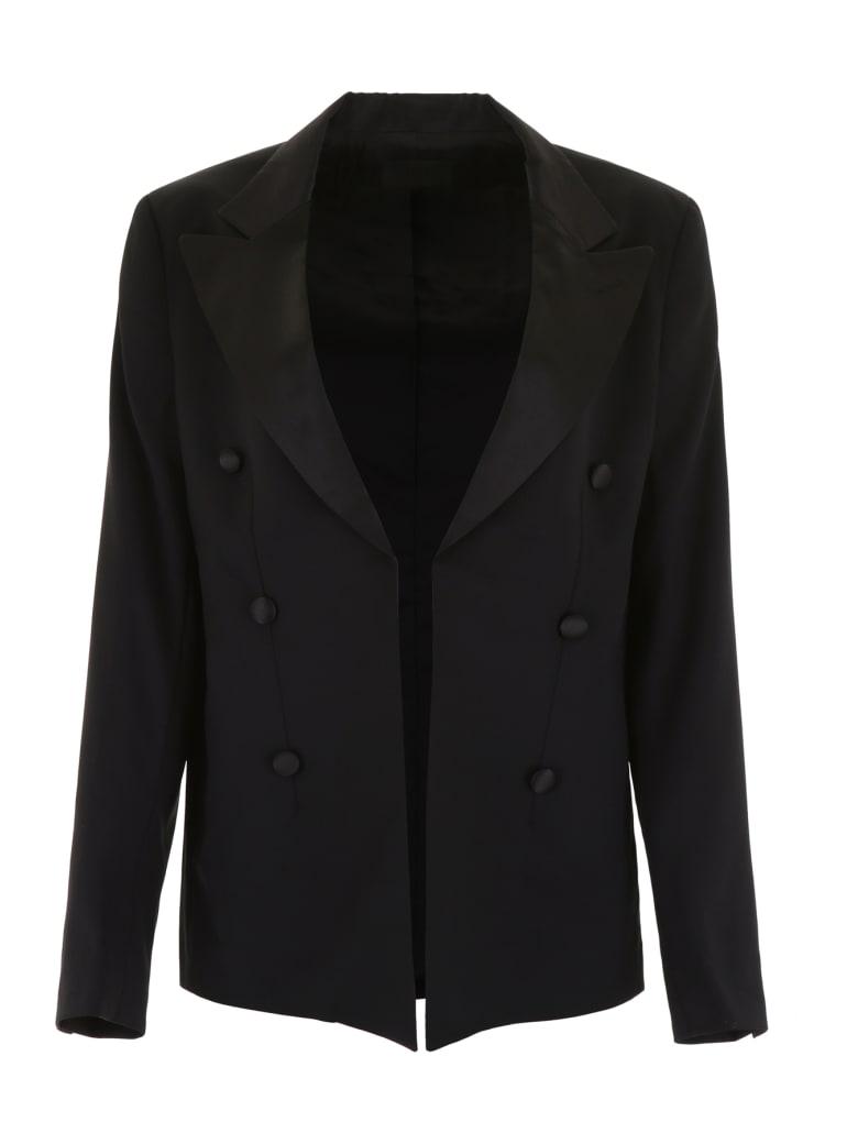 RTA Double-breasted Blazer - BLACK (Black)