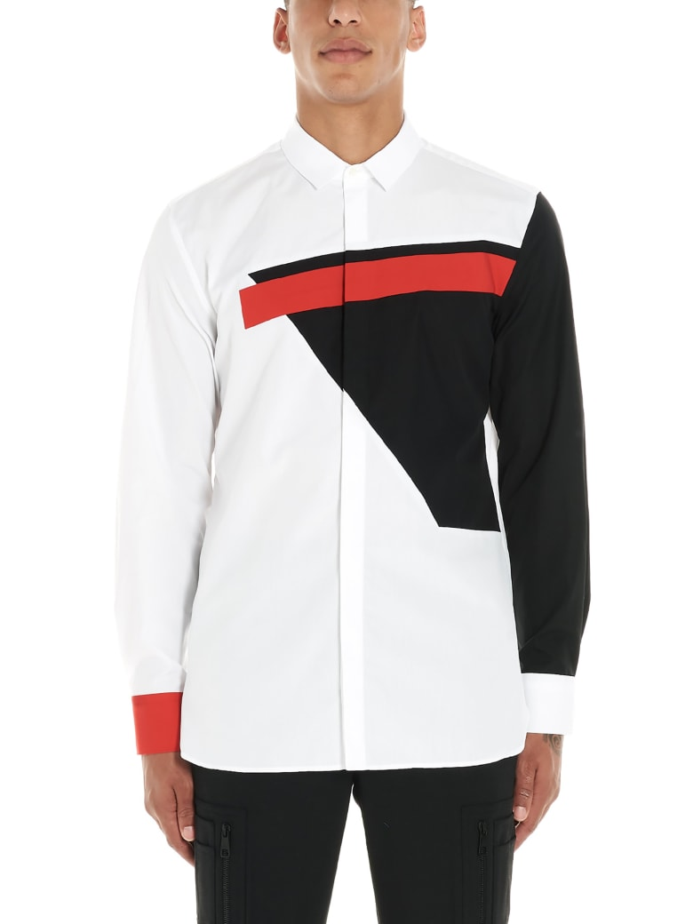 Neil Barrett 'modernist' Shirt - White