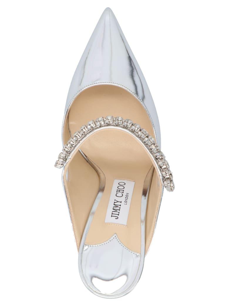 Jimmy Choo 'bing 100' Shoes - Silver