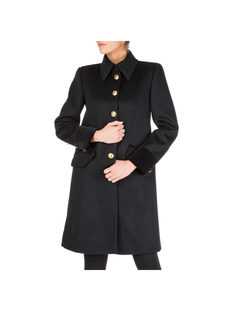 Alberta Ferretti Military Coats - Nero