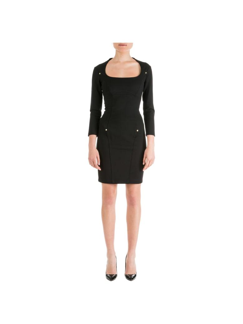 Versace Jeans Couture Ladybug Baroque Mini Dress - Nero