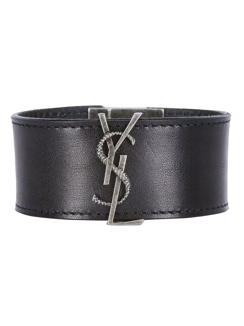 Saint Laurent Bracelet - Black