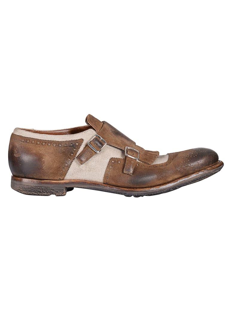Church's Shanghai Monk Shoes - Xzk Sigar Ecru