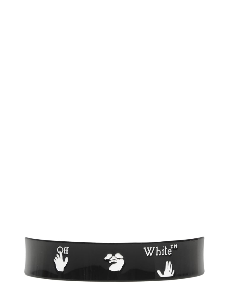 Off-White Headband - Black/white