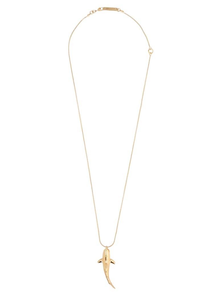 AMBUSH 'shark' Necklace - Gold