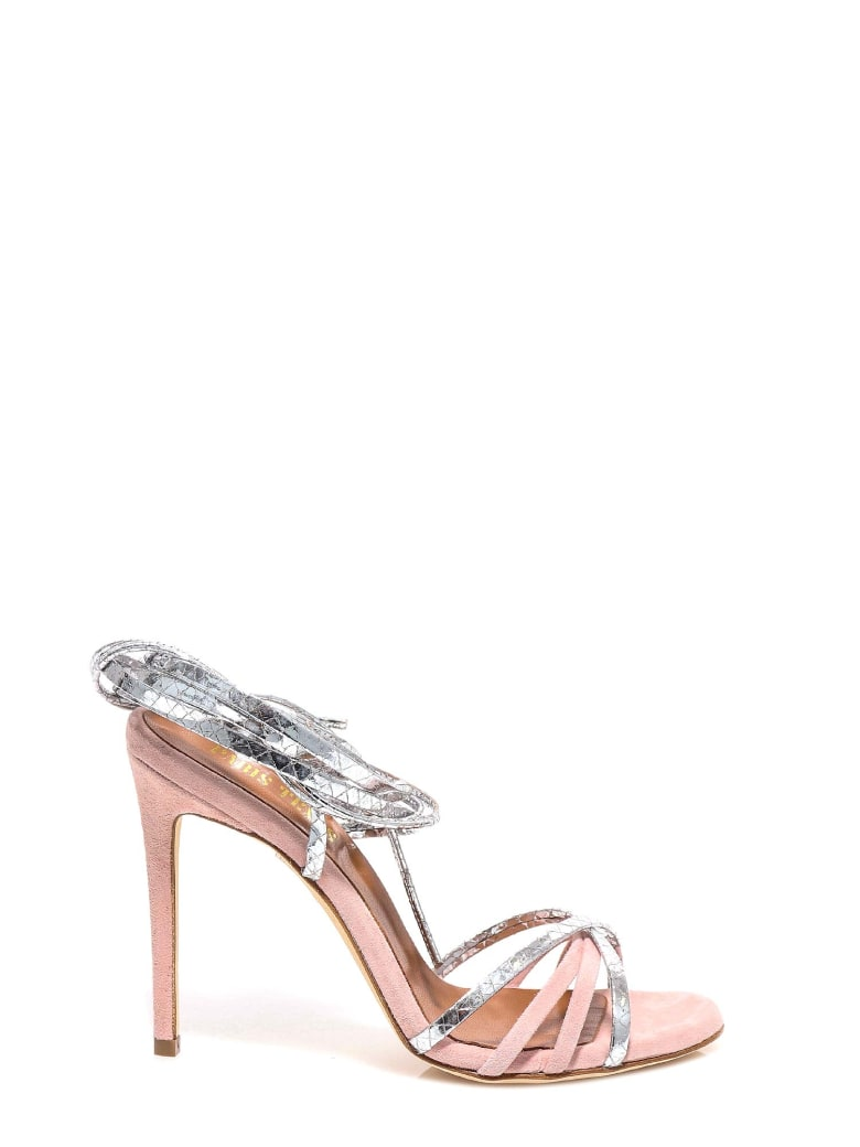 Paris Texas Sandals - Silver