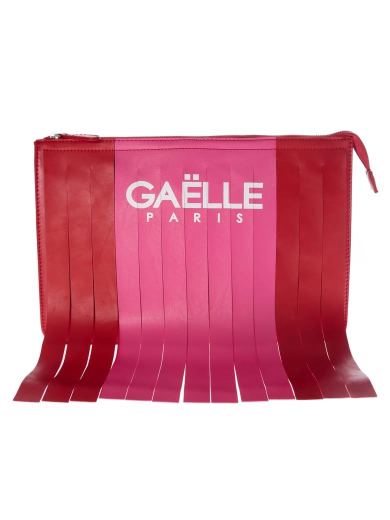 Gaelle Bonheur Fringed Clutch