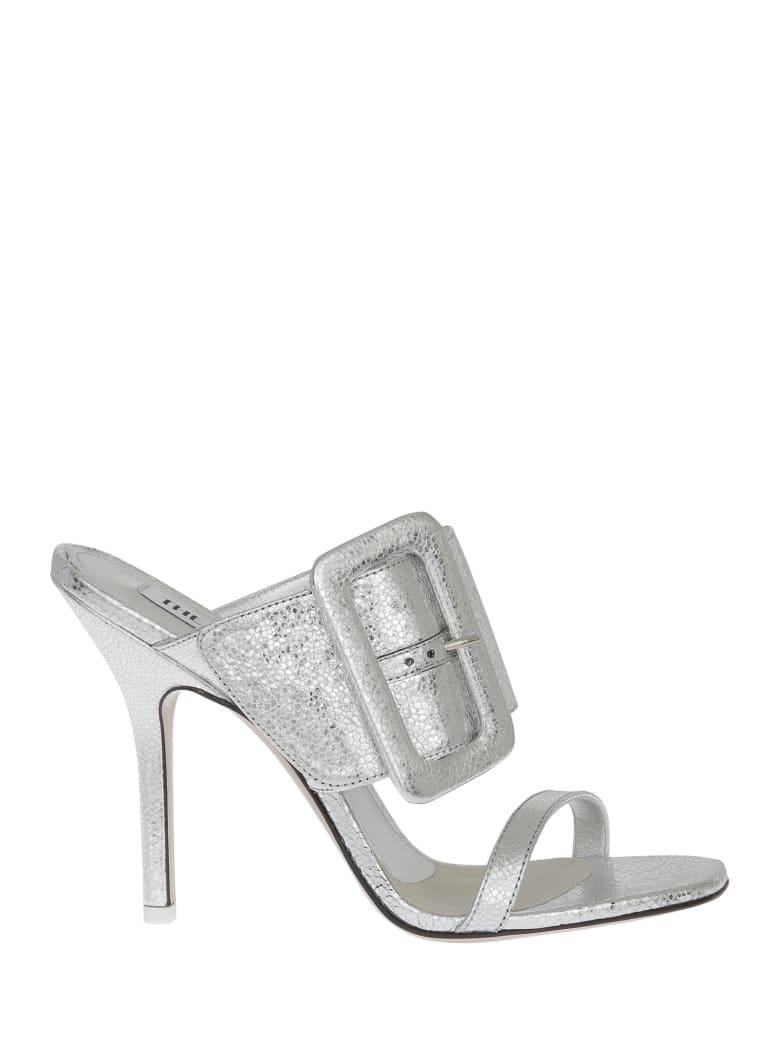 The Attico Sandals - Silver