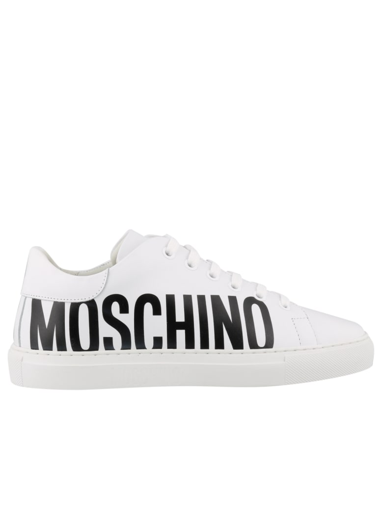 Moschino Low Top Sneakers - Bianco