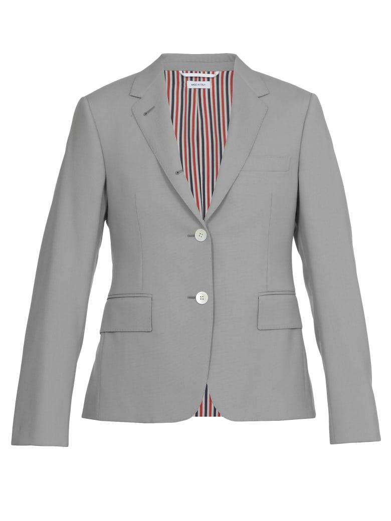 Thom Browne Single-breasted Jacket - MED GREY