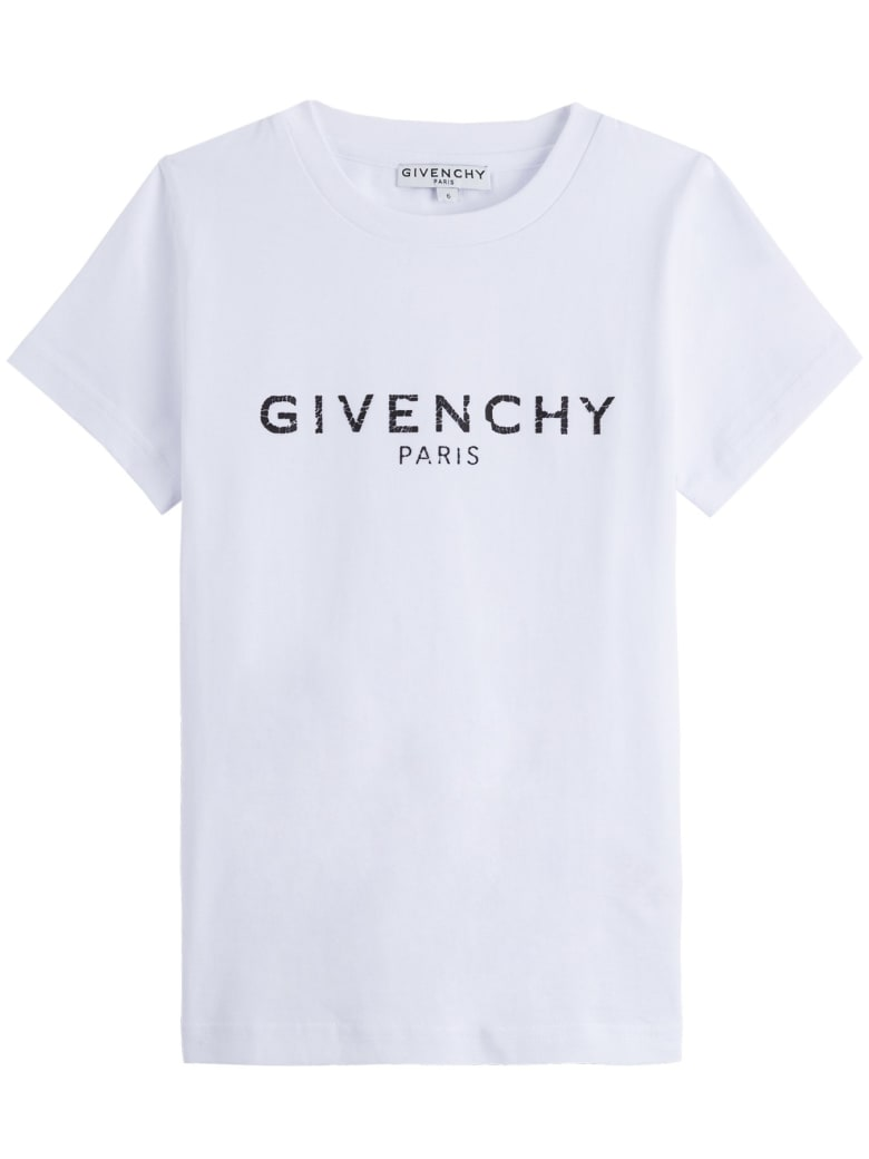 Givenchy Tee With Logo - Bianca