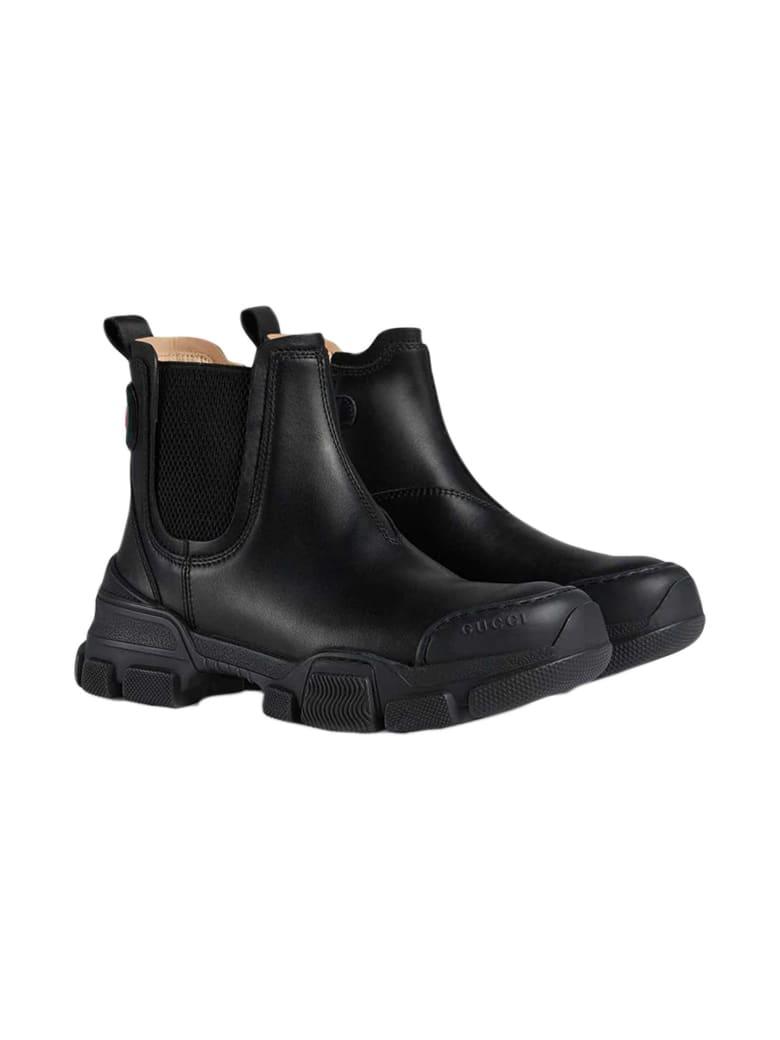 Gucci Black Boots - Nero