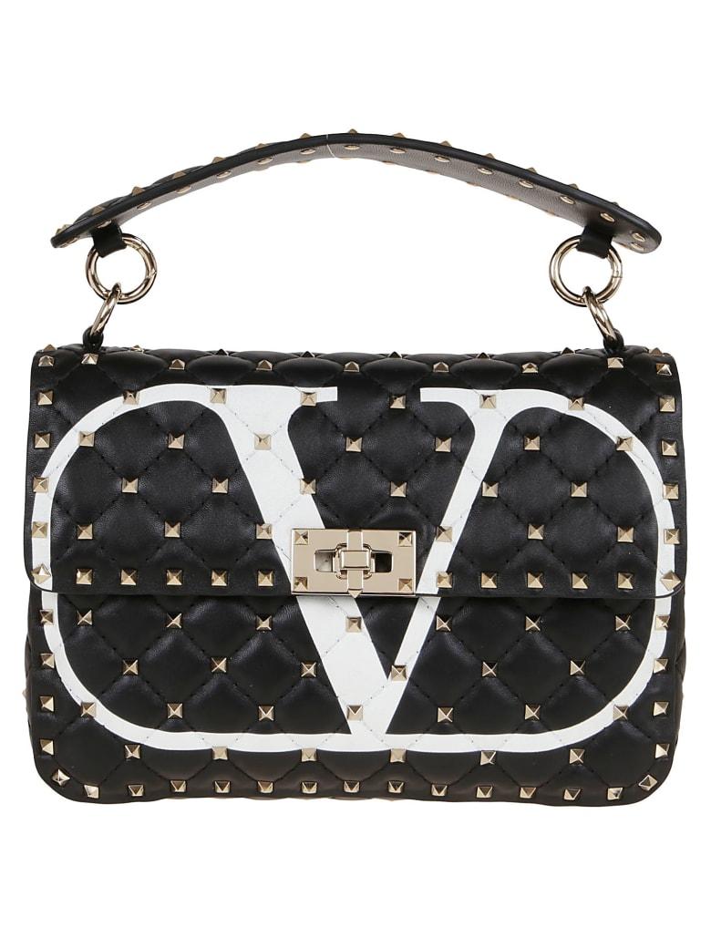 Valentino Spike Medium Shoulder Bag