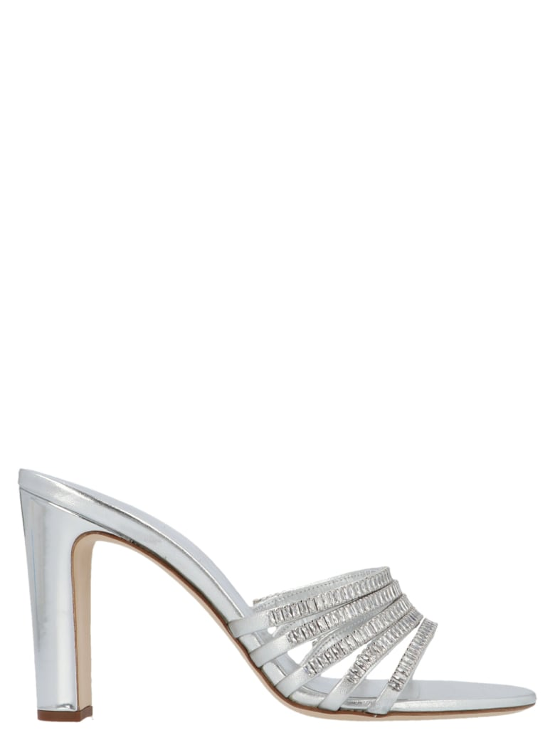 Giuseppe Zanotti 'alien' Shoes - Silver