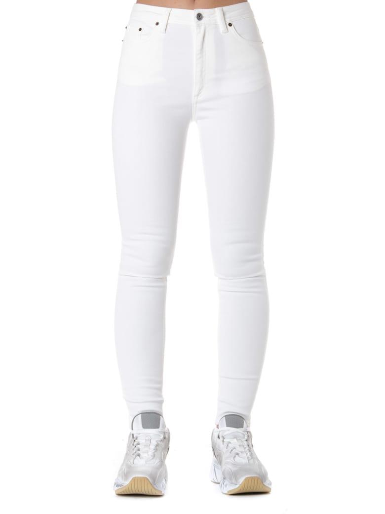 Acne Studios Cotton Stretch Skinny Fit Jeans - White