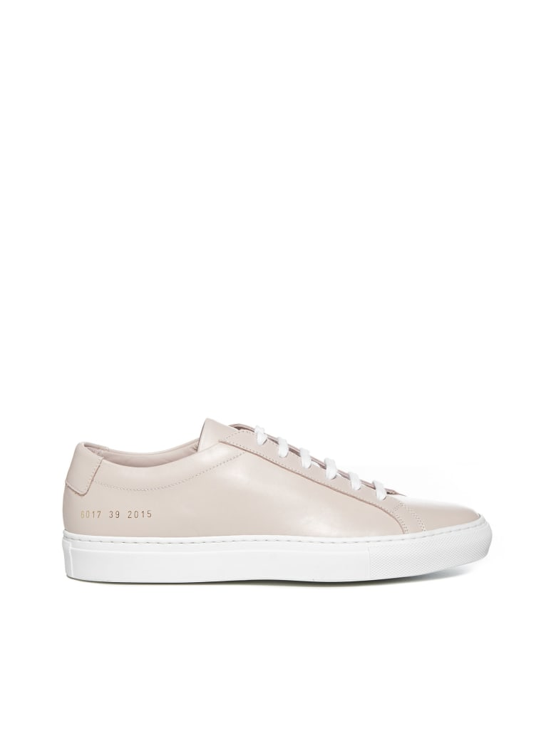 Common Projects Achilles Low White Sole Sneakers - Blush