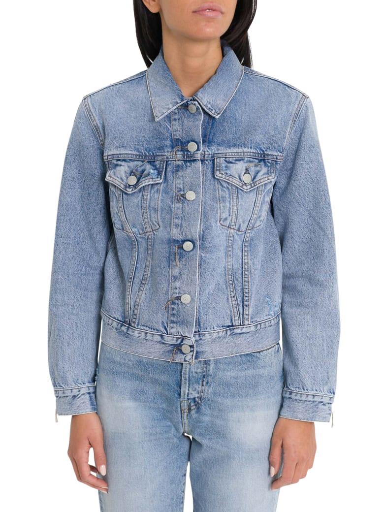 Acne Studios Denim Jacket Dark Blue - Denim
