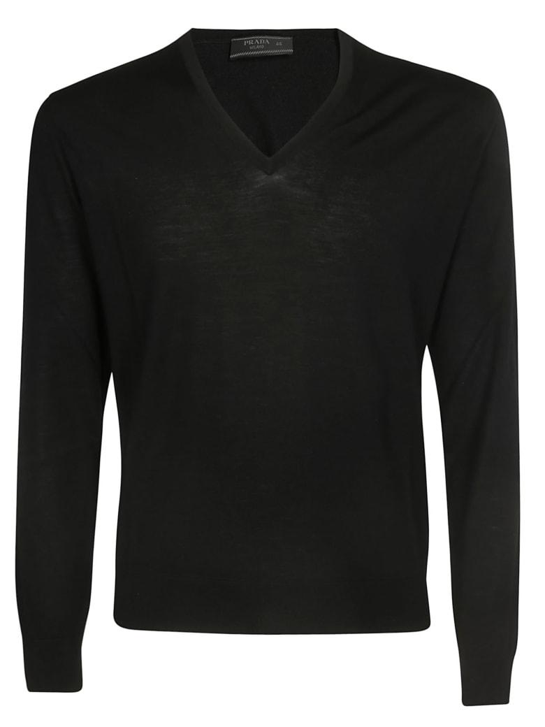 Prada Knitted Sweater - Black