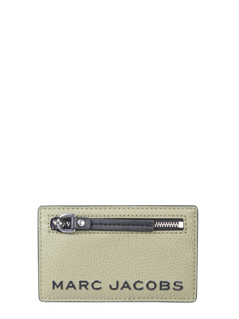 Marc Jacobs Card Holder With Logo - AVORIO