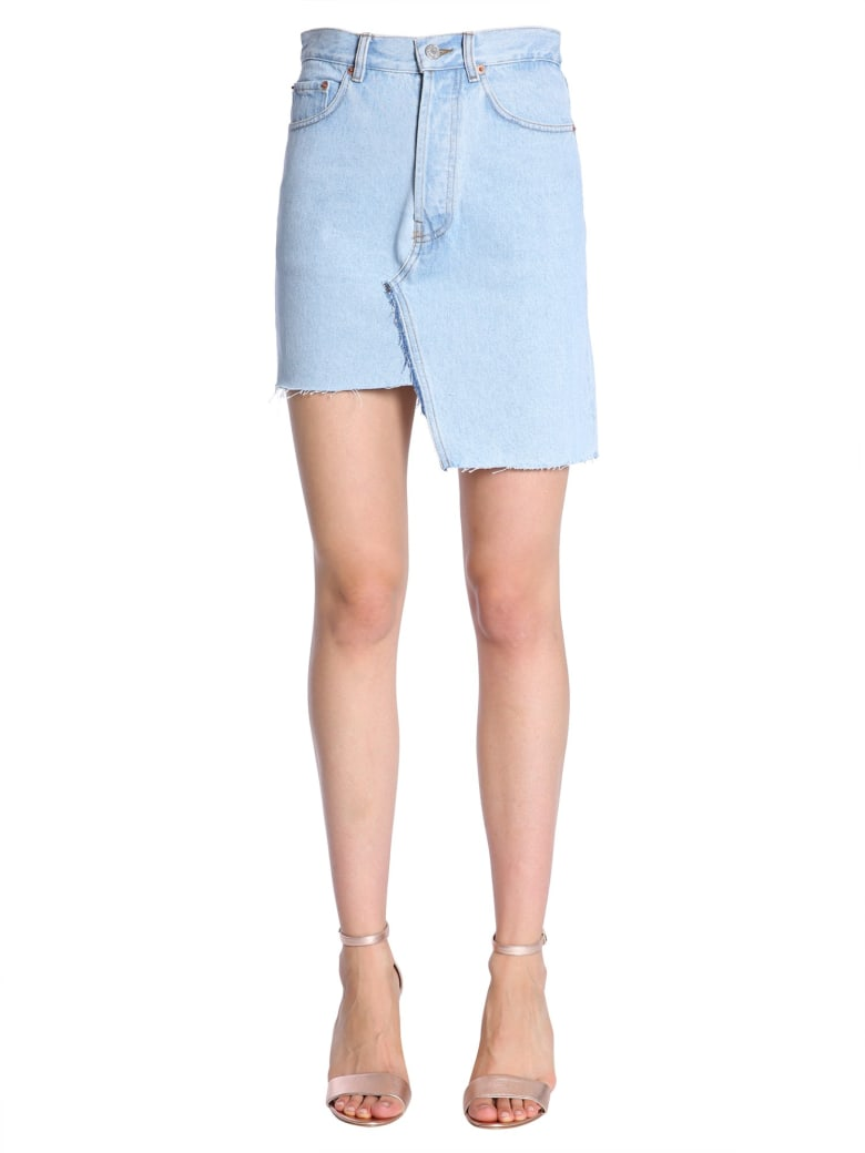 Forte Couture Lucille Denim Skirt - DENIM