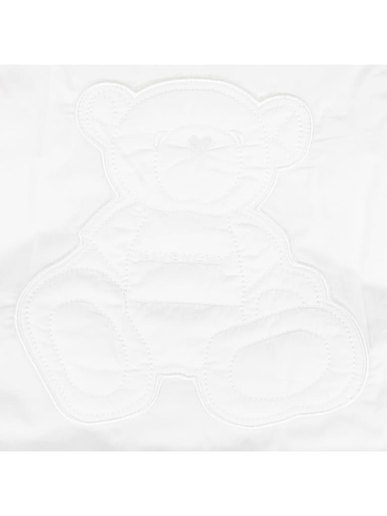 Givenchy White Blanket For Babykids - Bianca
