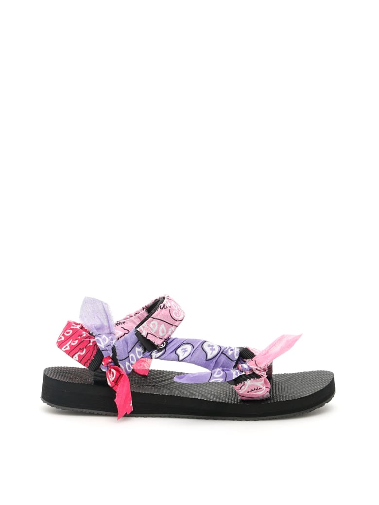 Arizona Love Bandana Trekky Sandals - MIX PINK (Pink)