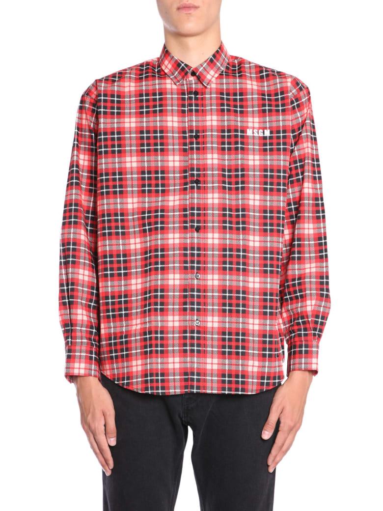 MSGM Cotton Check Shirt - MULTICOLOR