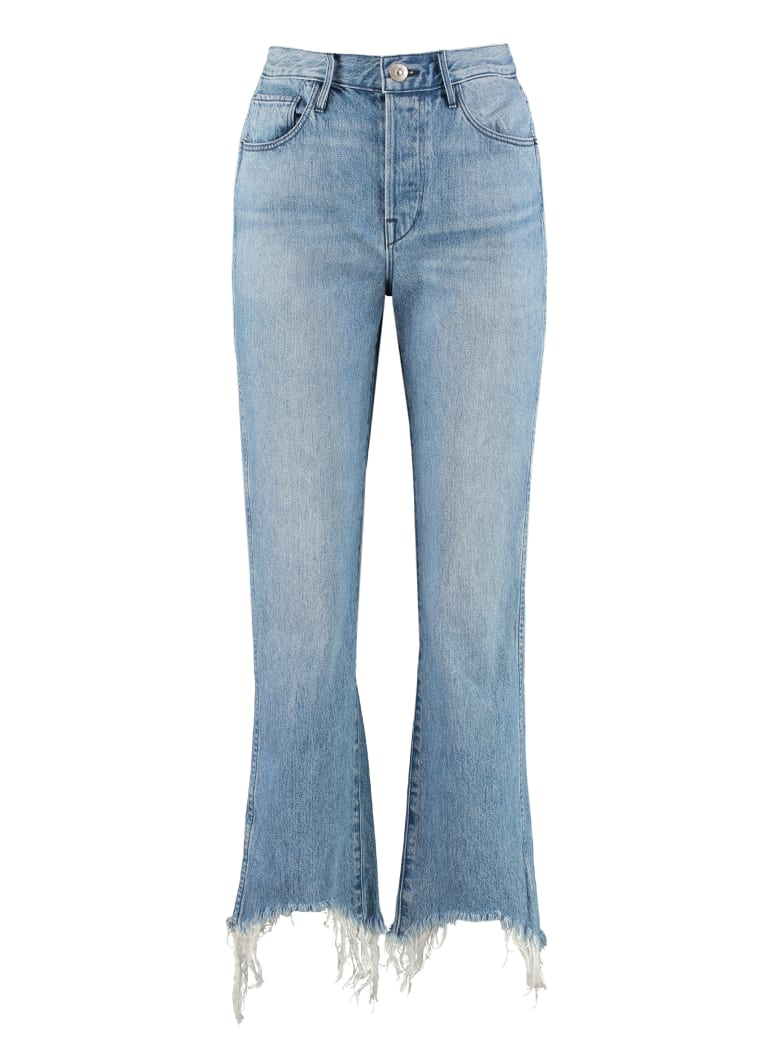 3x1 Shelter Austin Crop High-rise Jeans - Denim