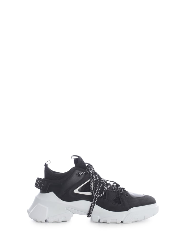 McQ Alexander McQueen Orbyt Mid Sneakers 2 Colours - Black White
