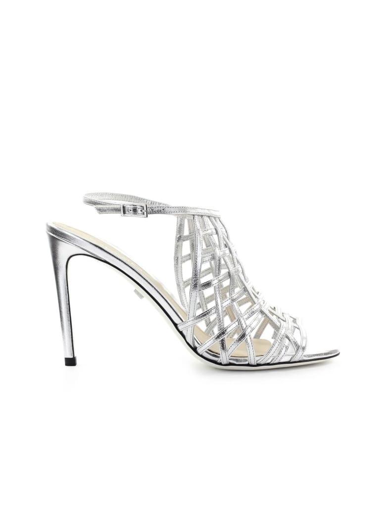 Grey Mer Fiji Silver Sandal - Silver (Silver)