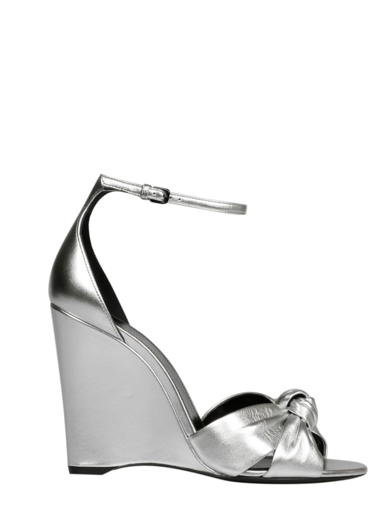 Saint Laurent Shoes - Metallic