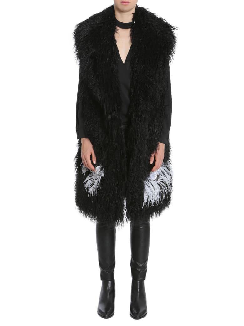 Ainea Feather Eco Fur - NERO