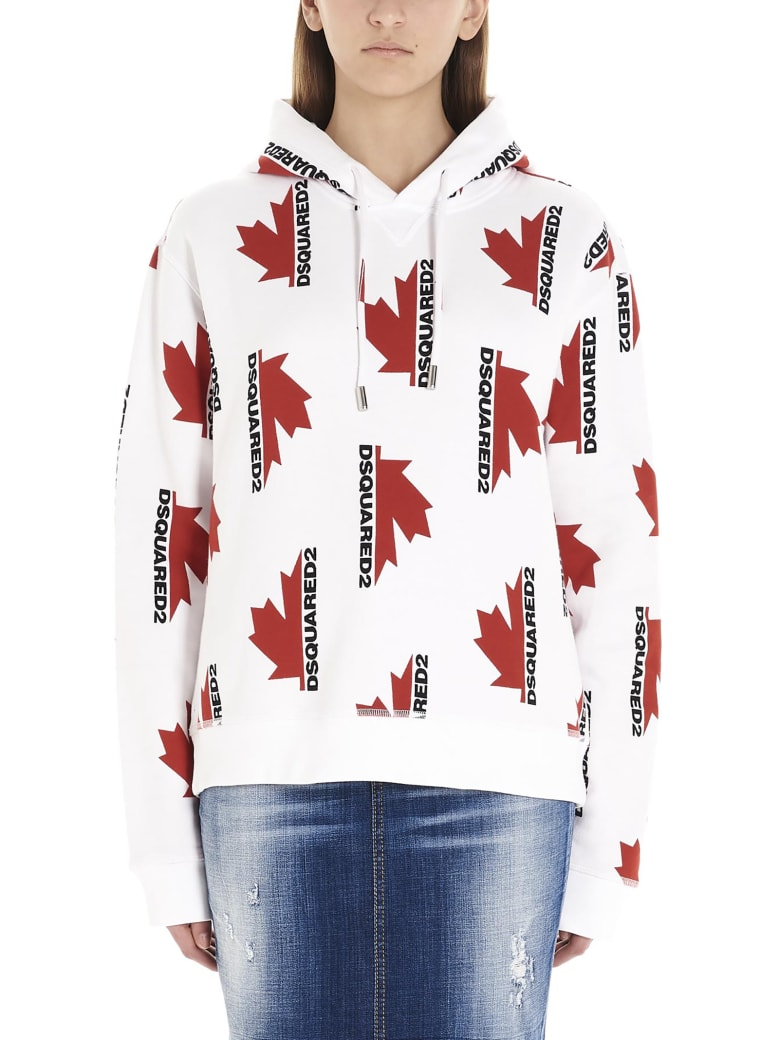 Dsquared2 Hoodie - White