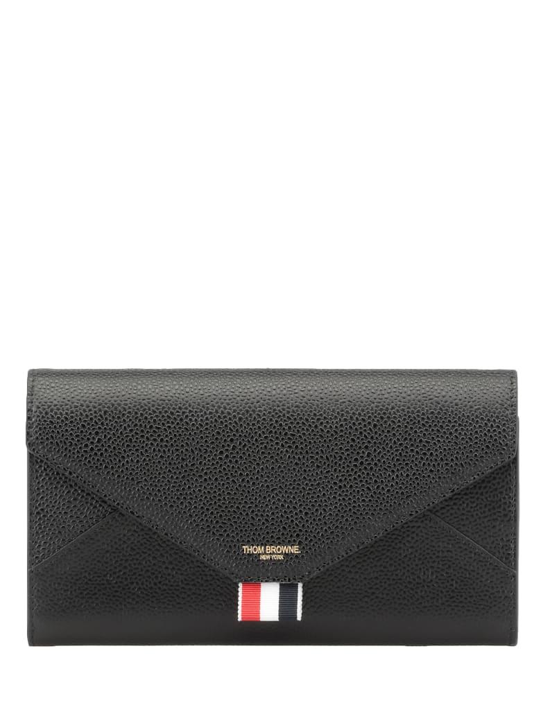 Thom Browne Continental Wallet - BLACK